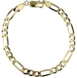 14k Figaro Bracelet 74a01551536f